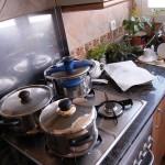 Cómo evitar la compra de ollas y sartenes en casa