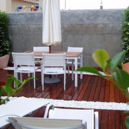Decore su terraza por poco dinero