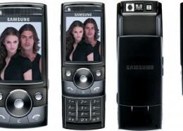 El Samsung SGH-G600 – Parte 1