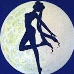 Foto del perfil de luna